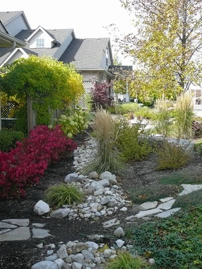 Garden Landscaping- rrocks and pavers