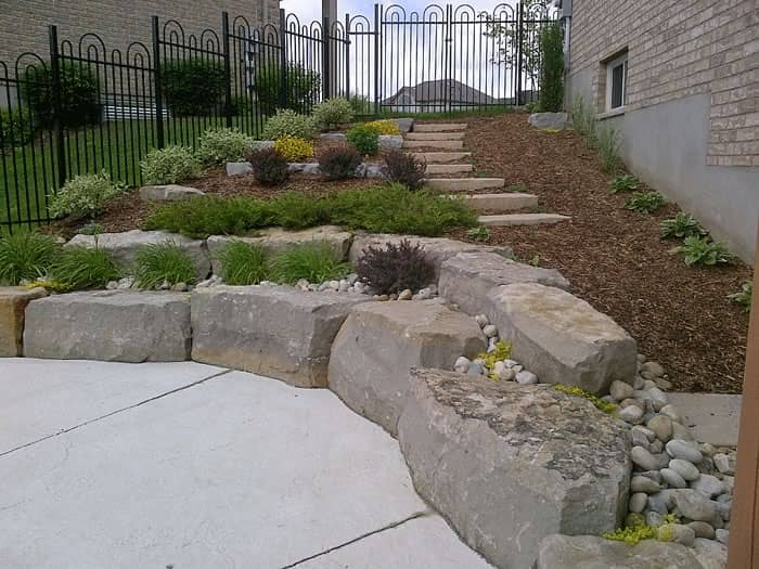 rocks and pavers - landscaping services